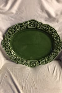 Platter, Green  Gulfport, 39503