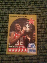 Magic Johnson Miami Heat 1990 basketball card