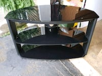 Tv stand glass 3 tier St. Catharines, L2P 1H9