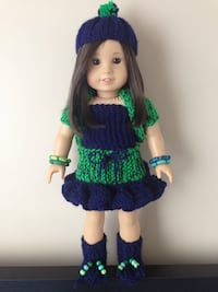American girl doll outfit and accessories  Toronto, M9M