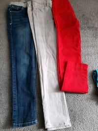 Girls pants small $5 all Calgary, T1Y 3Z8
