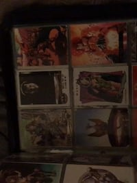 Lots and lots of excellent condition marvel trading cards and more. Also have alot of old comic books hmu obo
