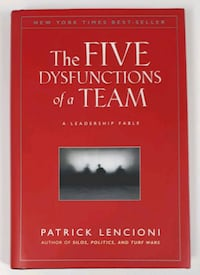 The Five Dysfunctions of a Team Barrie, L4N 7L8