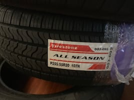 255-55-20R Brand new Firestone tires