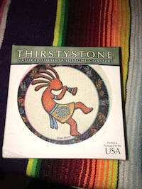 Brand new in the box thirsty stone coasters   College Station, 77845