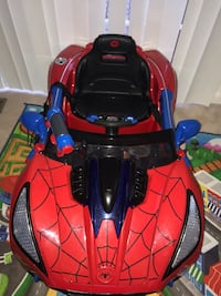 Spiderman Battery Operated Car