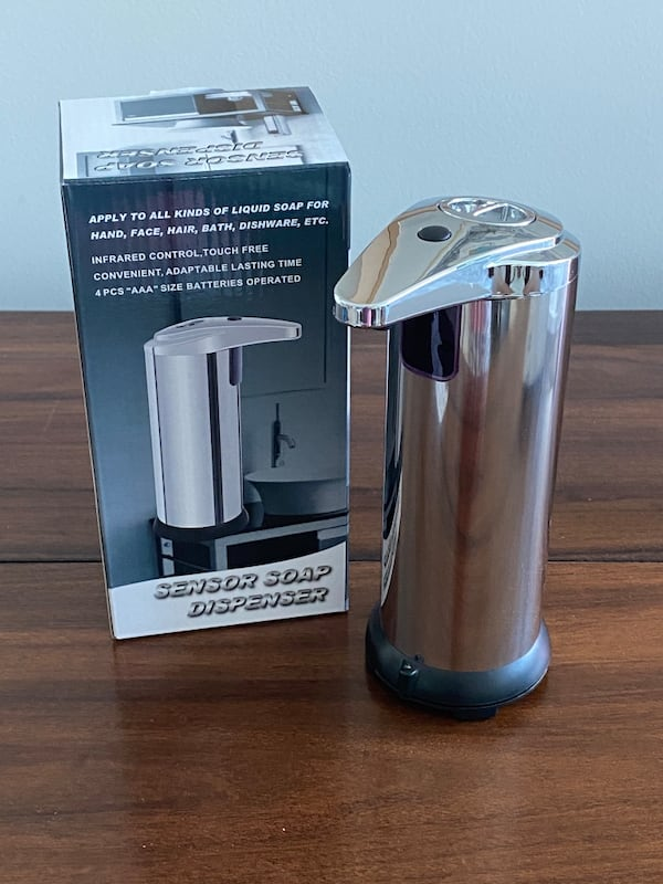 Automatic Soap Dispenser Stainless Steel New - cheaper than Amazon a5ad866c-ab4e-4b30-a8ce-8cf173ecf88b