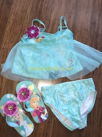 3 years old swimming suits and sandals  Cypress, 90630
