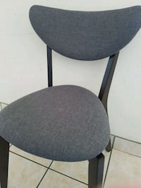 Brand new - Walnut Wood Ant Chair (Grey Colour) Mississauga, L4X 1P9