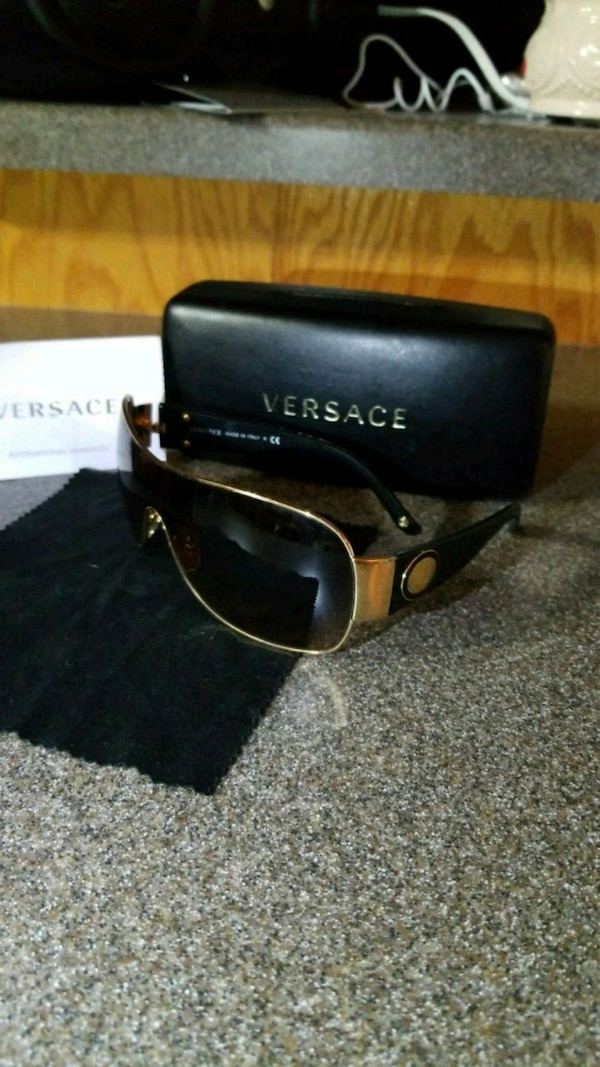 401216236e1c Used Authentic Versace sunglasses for sale in North Stonington - letgo