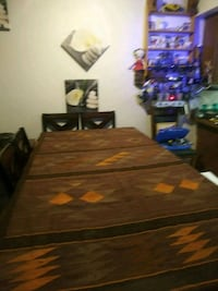 brown wooden table with chairs Los Angeles, 91335