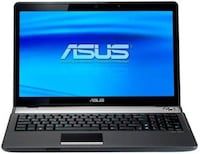 "Asus Laptop N61VN280BD CORE 2 DUO T9600 2.8Ghz 4GB/16""/W10/120GB SSD"