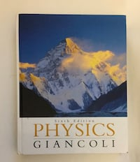 Physics Sixth Edition by Giancoli Textbook