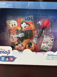 Disney Emoji Stationary kit Edmonton, T5P 3M9