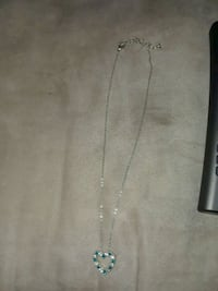 silver-colored chain necklace with blue gemstones Santa Fe, 87501