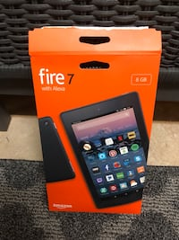 """Fire 7 with Alexa 7"""" Display incl case"""