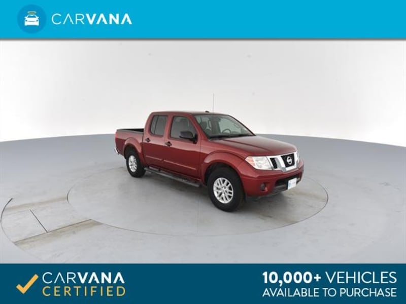 2015 Nissan Frontier Crew Cab pickup SV Pickup 4D 5 ft Red <br e3f0fe3c-a746-4e13-9605-3d07df576f29