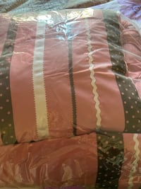 Gorgeous Queen comforter set, color: dusty rose, retails for $97 Chevy Chase, 20815