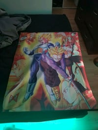 Selling 5 Wall scroll Anime Fabric posters Mississauga, L5G