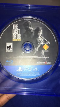 Sony PS4 The Last of Us game disc Lansdale, 19446