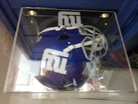 Ny giants authentic replica helmet with case Old Bridge Township