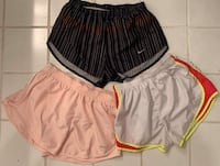 Nike dry fit women's Lot of 3 Shorts size medium like new Trussville