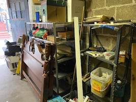 Construction supplies & furniture (weekend pickup only)