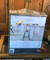 FIRM PRICE BRAND NEW ADJUSTABLE BARSTOOL