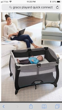 baby's gray and black Graco travel system Mississauga, L5B