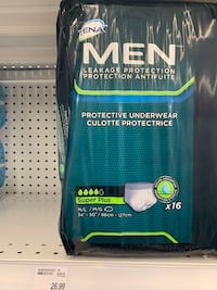 Men adult diaper 40 for everything  Toronto, M2M 3Z1