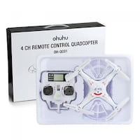 Ohuhu 4 Channel 2.4GHz 6-Axis RC Quad Copter OH-QC01 Mississauga