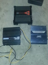 4 amps, and a kenwood deck Fairbanks, 99709