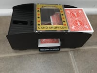 Automatic Cards Shuffler Sorter Casino - One Or Two Deck $10, no cards Mississauga, L5L 5P5
