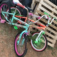toddler's green and purple bicycle Midland, 79706