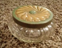 Vintage Dresser Box / Jar Bloomington, 61701