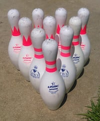 Set of 10 Used Brunswick Score King Bowling Pins Grovetown, 30813