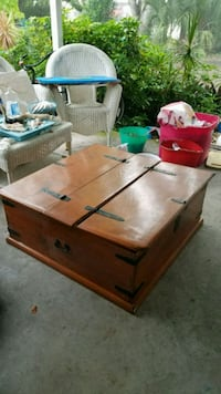 Wooden Trunk Coffee Table Naples, 34112