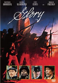 Glory Dvd -Matthew Broderick and Morgan Freeman Bethesda, MD, USA