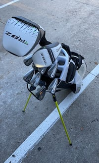 Nike golf set Taylormade woods odyssey putter
