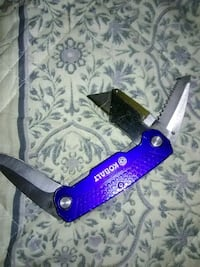 purple and gray pocket knife Hagerstown