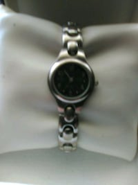 Heavy blue faced watch. Pacolet, 29372