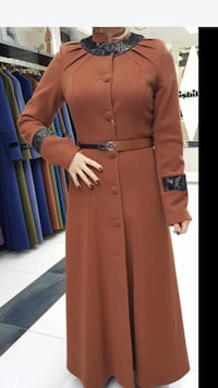 women's brown trench coat Port Coquitlam, V3B 1T7