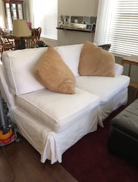 "White ""Chaise"" Couch Charlotte, 28203"