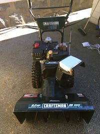 Craftsman 9hp snowblower Boston, 02127