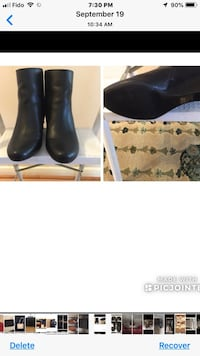 Leather Boot Size 8 Never Worn