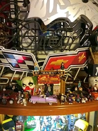 35 homies 7 custom models diecast and clown house house lights up
