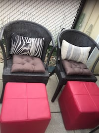 Two wicker chairs—REDUCED Edmonton, T5Y