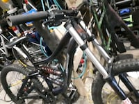 black and gray full suspension mountain bike Surrey, V3S 0E5