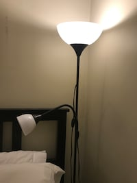 Two IKEA floor lamps Vancouver, V6B 2W2