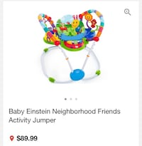 Baby gym like new very like used my baby don't need it anymore Bay Harbor Islands, 33154